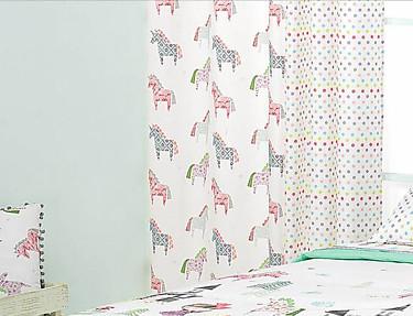 Cañete - Cortina con ollaos Unicorn