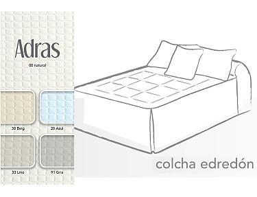 Cañete - Colcha edredón Adras con cojín de regalo