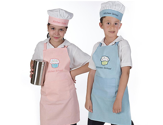 Gamberritos - Juego de cocina infantil delantal y gorro 7254