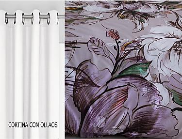 Sansa - Cortina con ollaos Sines