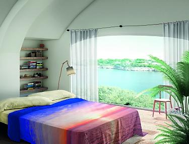 Euromoda - Juego de cama 100% Algodón Samoa