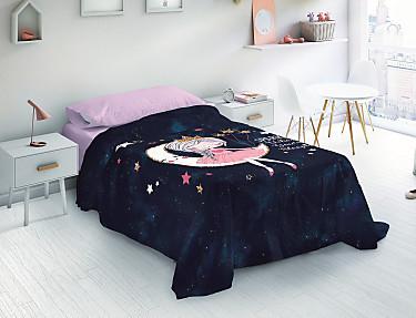 Euromoda - Juego de cama 100% Algodón Lesha