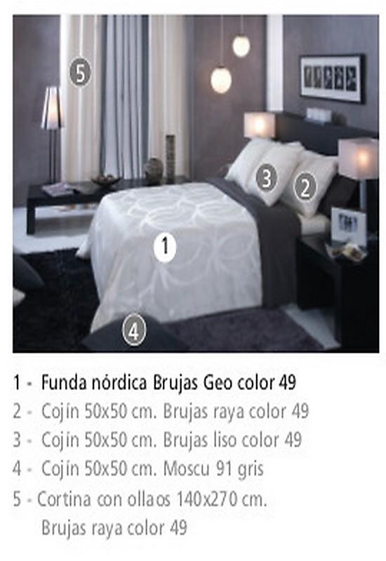 Funda nórdica Jacquard Brujas Geo   Centro Textil Hogar