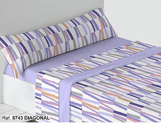 Trovador - Juego de cama de invierno Coralina Diagonal