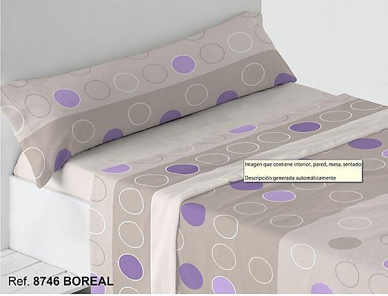 Trovador - Juego de cama de invierno Coralina Boreal