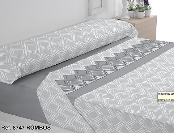 Trovador - Juego de cama de invierno Coralina Rombos