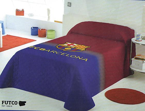 Euromoda Naturals - Colcha FC Barcelona 13699 Escudo