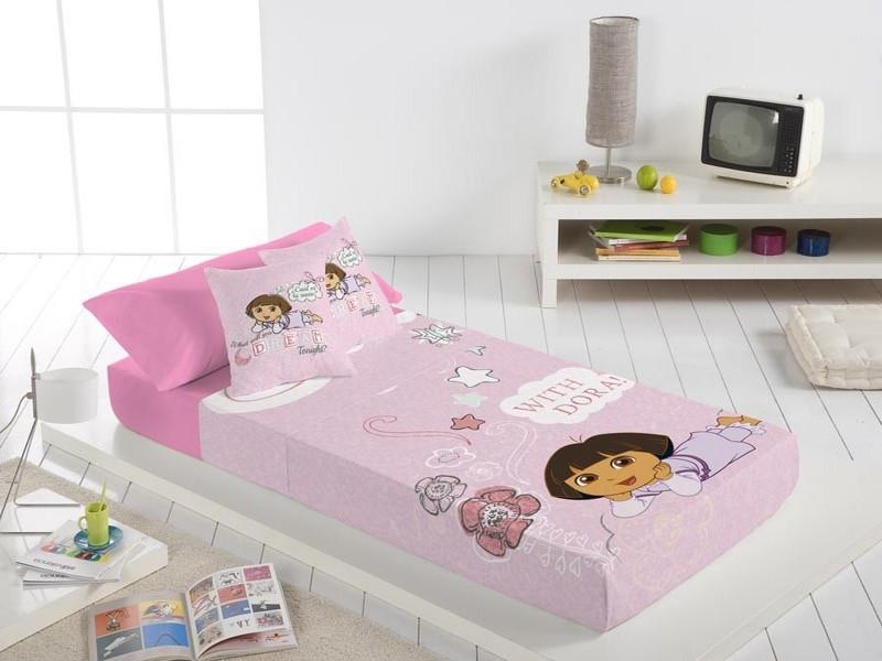 Euromoda Juego de cama Dora Buenas Noches