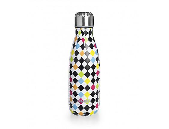 Ibili - Botella termo doble pared Arlequin 350