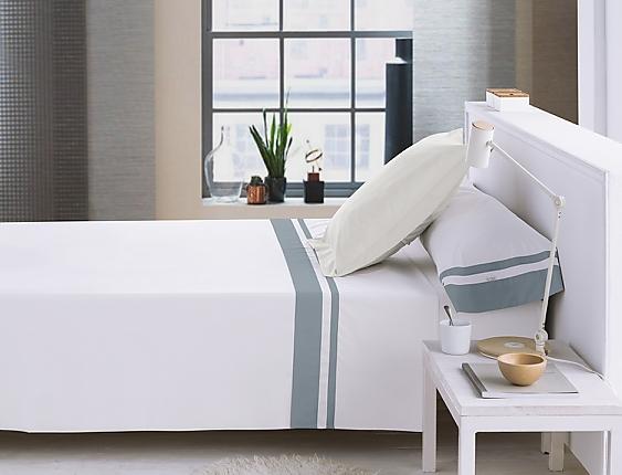 Estelia - Juego de cama Marbella 200 Hilos 100% algodón