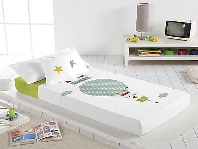Euromoda - Juego de cama 100% Algodón Chica Globo