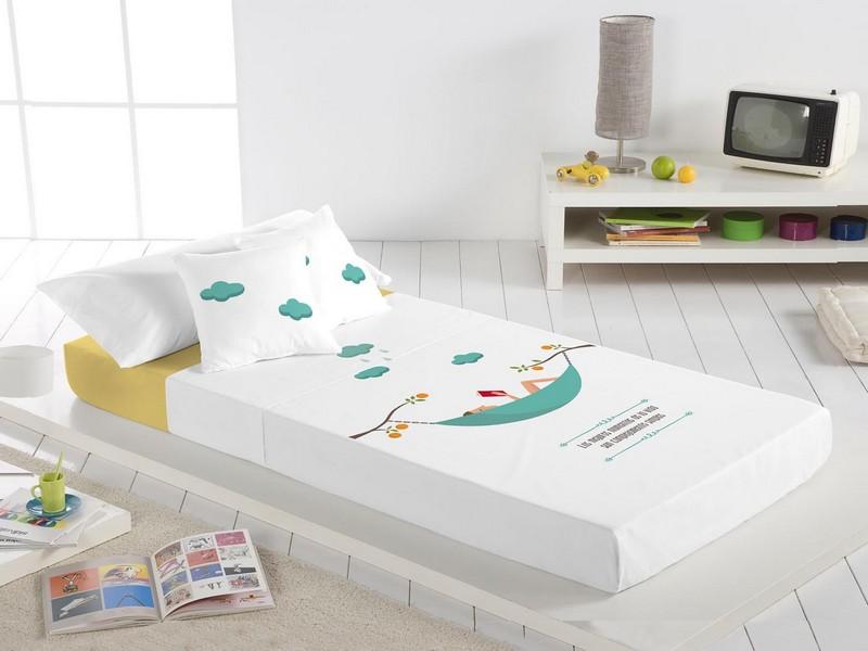 Euromoda Juego de cama 100% Algodón Hamaca