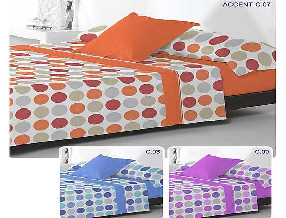Reig Marti - Juego de cama de invierno coralina Accent