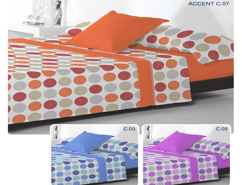 Reig Marti Juego de cama de invierno coralina Accent