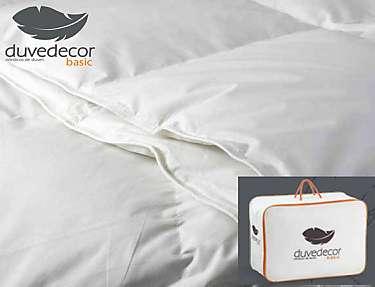 Duvedecor - Edredón nórdico Aqua + patucos de pluma de regalo