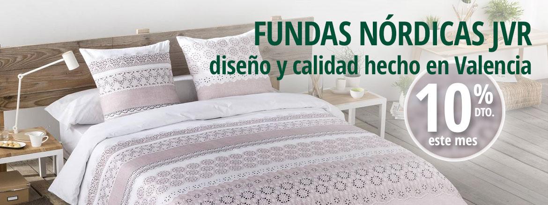Fundas nórdicas JVR, calidad y diseño hecho en Valencia
